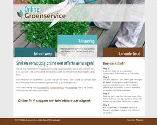 Online Groenservice