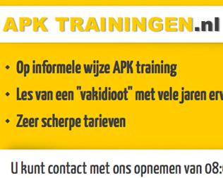 APK Trainingen