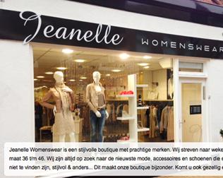 Jeanelle Womenswear